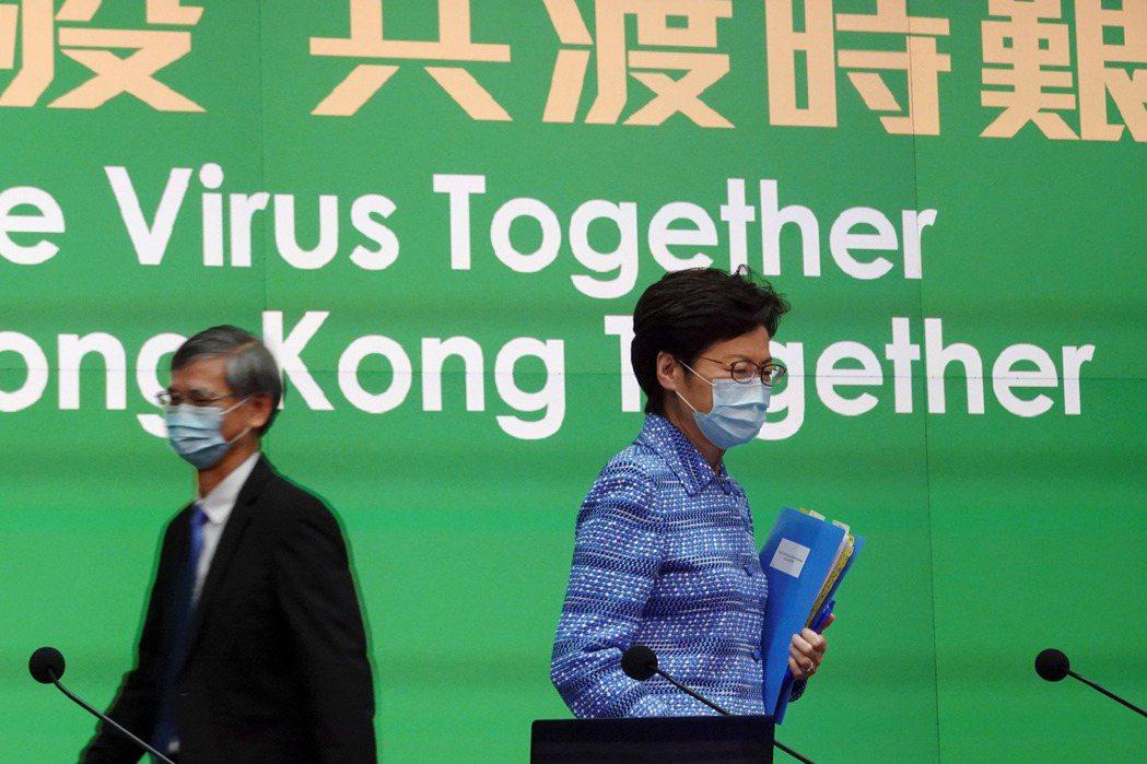 多國輿論群起譴責中共與港府,在疫情肆虐全球時趁隙打壓香港人權。 圖/路透社
