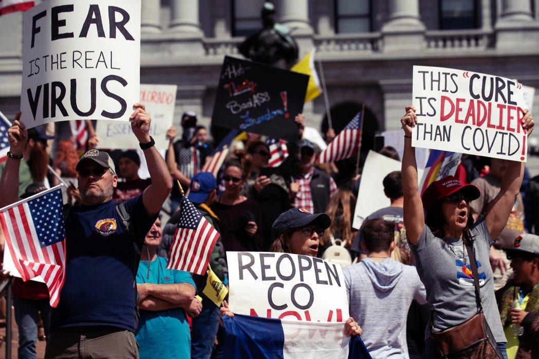 密西根州之後接連在明尼蘇達州、肯塔基州、維吉尼亞州等地,都出現了類似的反對抗爭,...