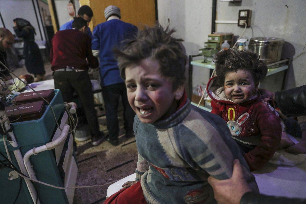 WHO的設立目標是「促進全人類達成衛生與健康之最高可能水準」——圖為敘利亞內戰中...