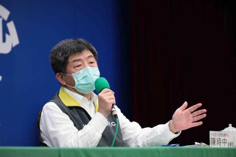 中央疫情指揮中心指揮官陳時中20日表示,會再針對軍中通報疫情的程序做出彈性調整。(photo by 中央疫情指揮中心)
