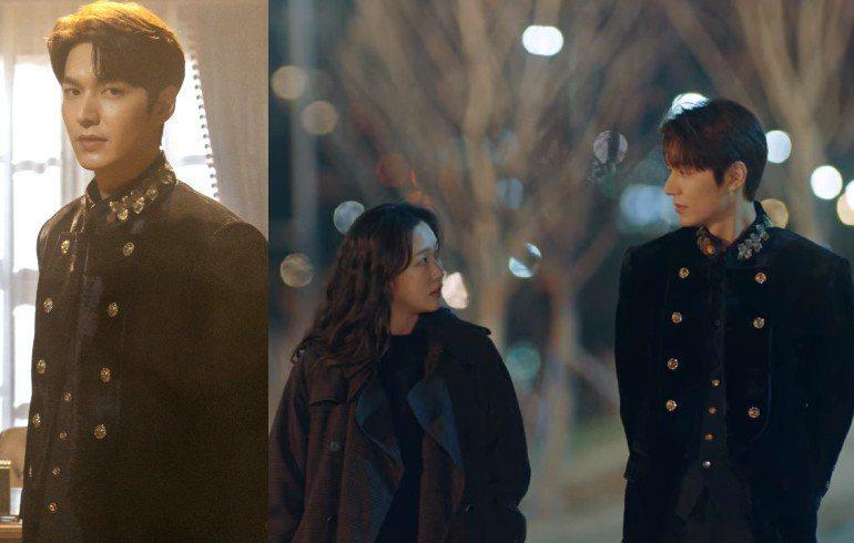 李敏鎬在新戲《The King:永遠的君主》中最讓人印象深刻的「鑽石排釦西裝外套」造型,出自韓國本土設計師金瑞龍kimseoryong之手。圖/Netflix提供、擷自Netflix