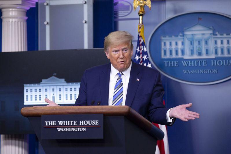 美國總統川普表示,最近美股上漲,表明投資人認為他的政府因應疫情相當成功。歐新社