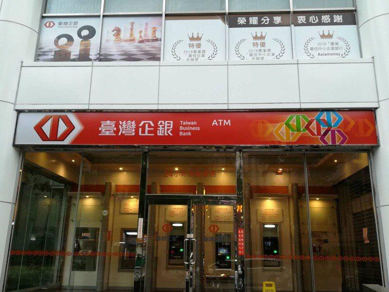 小商家50萬元紓困貸款,臺灣企銀4月20日起開辦。圖/臺灣企銀提供
