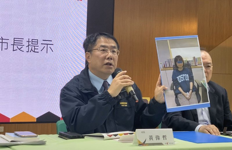 台南市長黃偉哲今天批評國軍確實要檢討。圖/本報資料照片