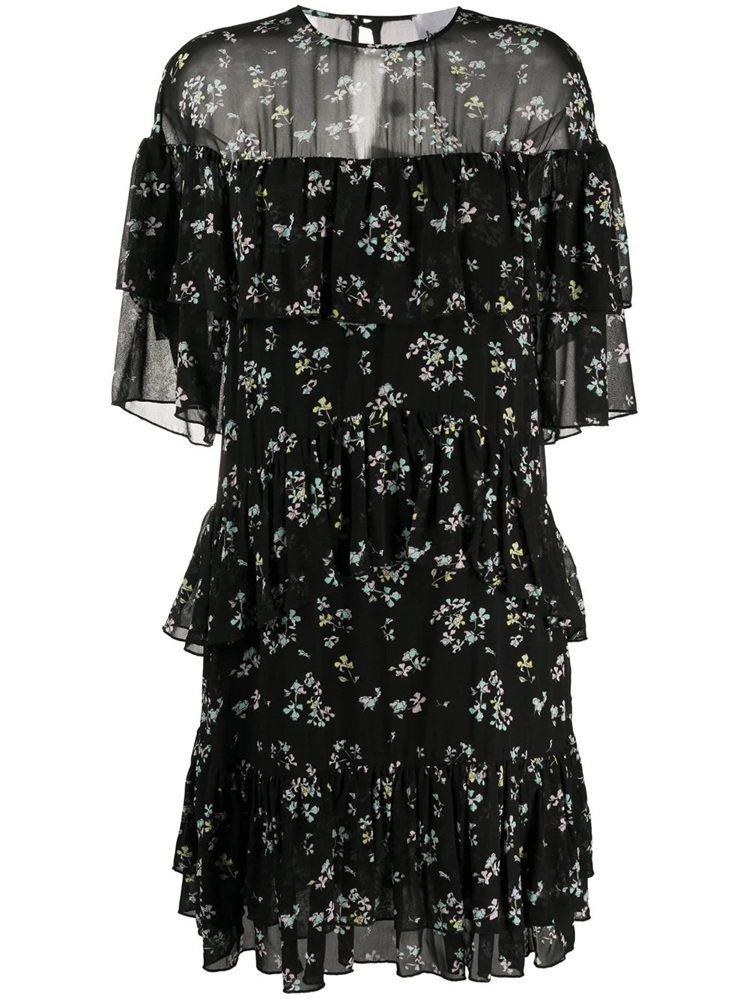 春夏新款碎花洋裝,22,800元。圖/Blumarine提供