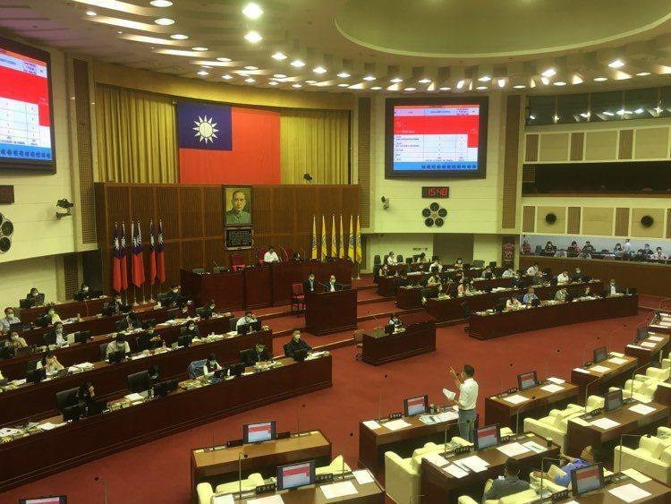 台北市市議會今天下午教育部門質詢。記者張世杰/攝影