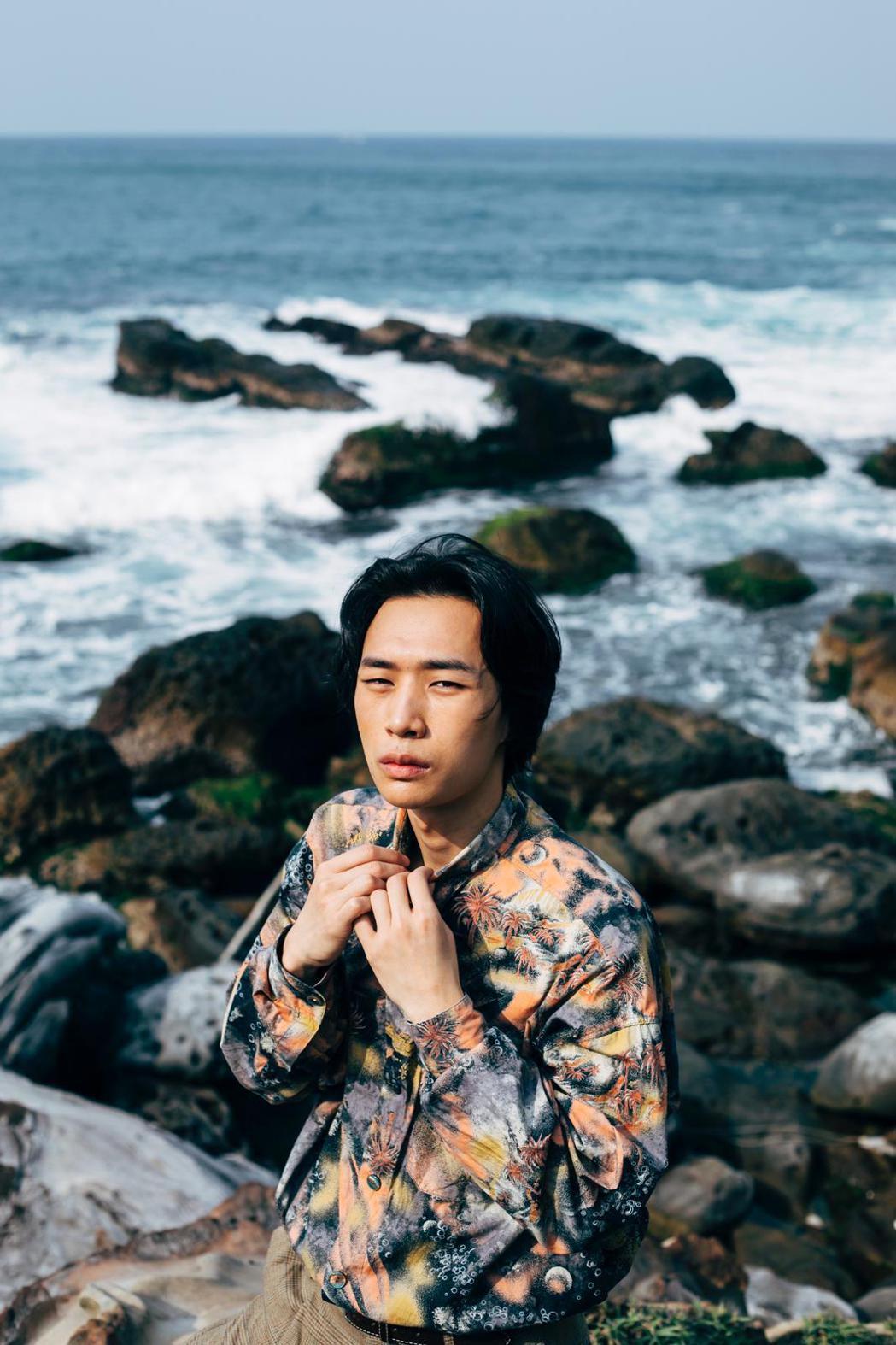 香港演員吳志維未來台灣發展存錢1年。圖/樂於有限公司提供