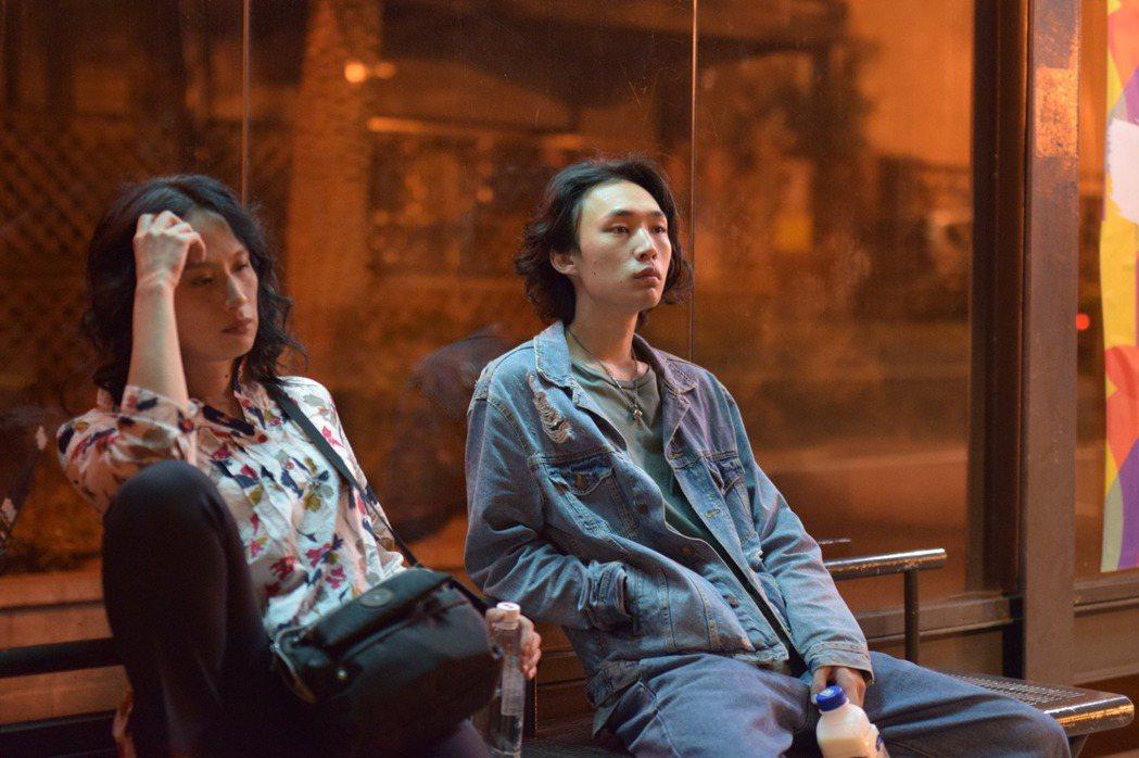 吳志維第一部長片「失路人」劇照。圖/導演張志威提供