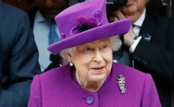 女王伊莉莎白二世。法新社