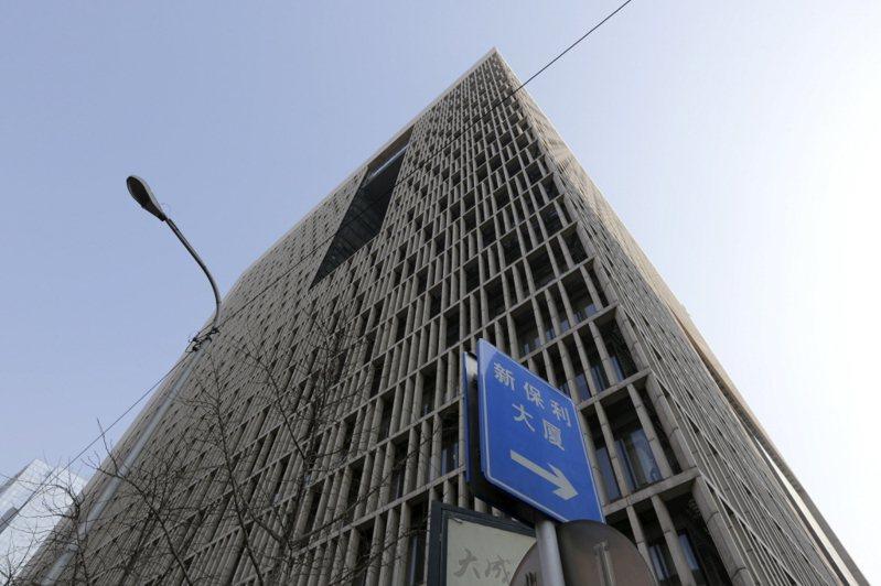 中投公司的北京總部。路透