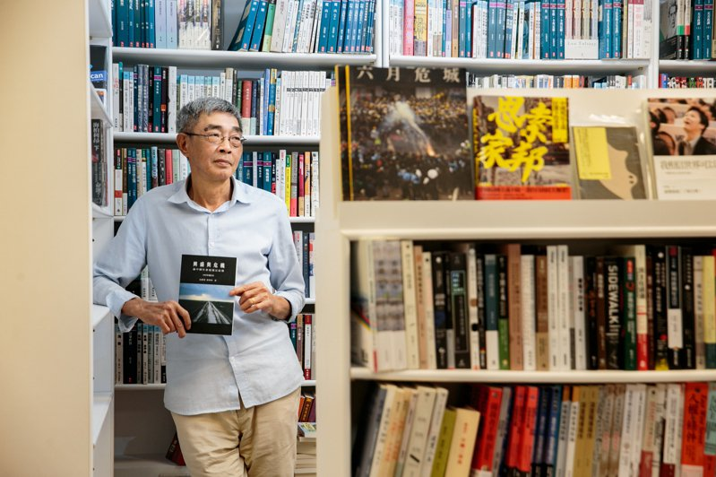 林榮基認為,銅鑼灣書店可以提供香港的觀點,協助台灣人釐清和中國大陸的關係。記者曾原信/攝影