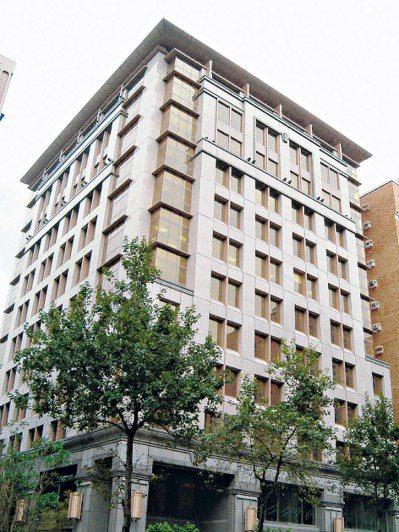 保德信人壽南京東路總部大樓,增值利益可期,堪稱其最豐厚的一筆嫁妝。 (本報系資料庫)