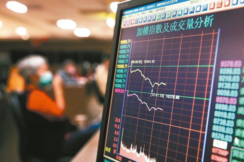 台股今終場以10,366.51點作收,上漲58.77點、漲幅0.57%,成交量1,547.63億元。 記者林澔一/攝影