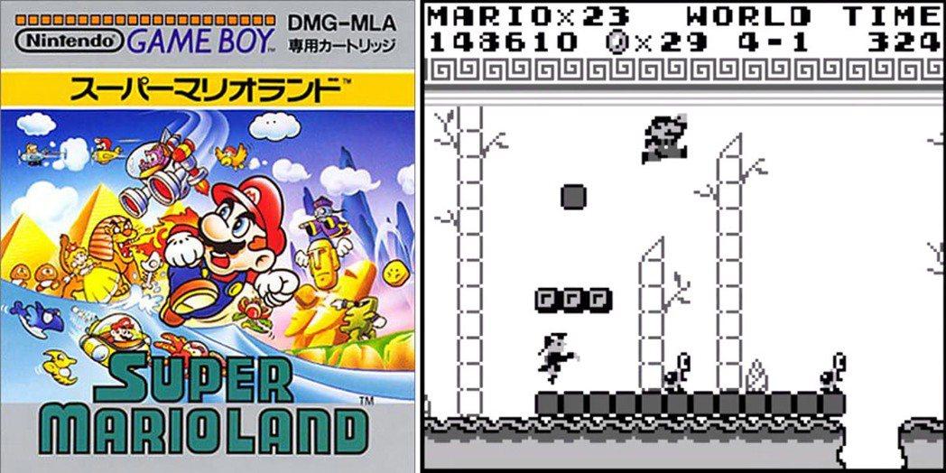 和 GAMEBOY 主機同一天上市的《超級瑪利歐樂園》(Super Mario ...