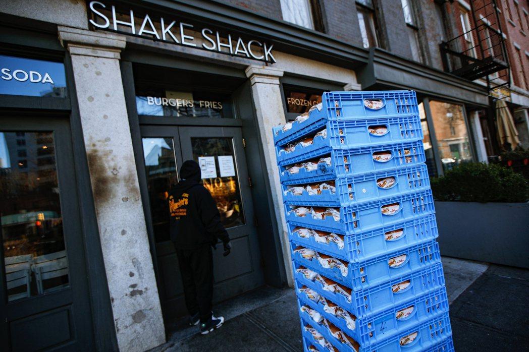 圖為紐約布魯克林的 Shake Shack。 圖/美聯社