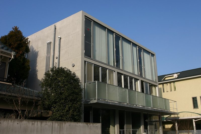 位於東京世田谷區的合作住宅「Unite」。 圖/維基共享