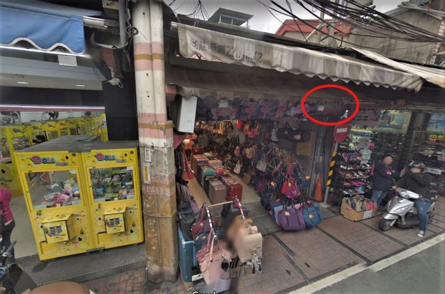 這次遭拆的街屋原看似不起眼的店面,但其建材卻是日本時代的TR磚,甚至有清代大方磚...