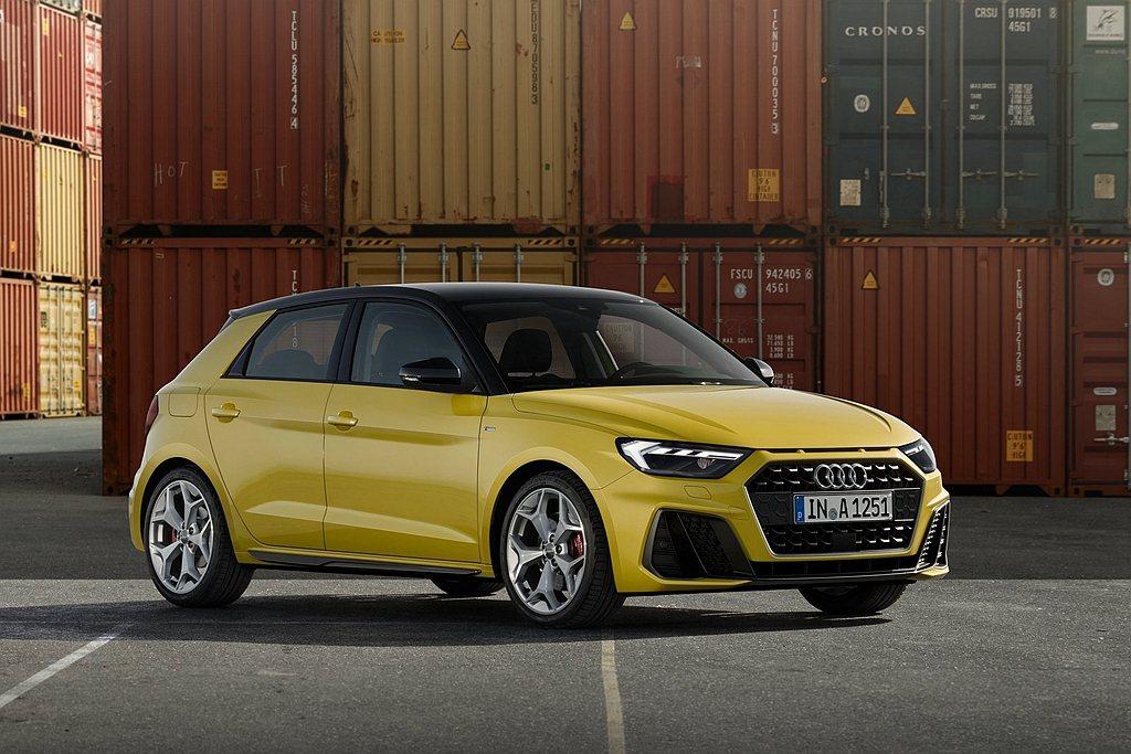 新世代Audi A1 Sportback時尚掀背,提供多種繽紛外觀車色可選。 圖...