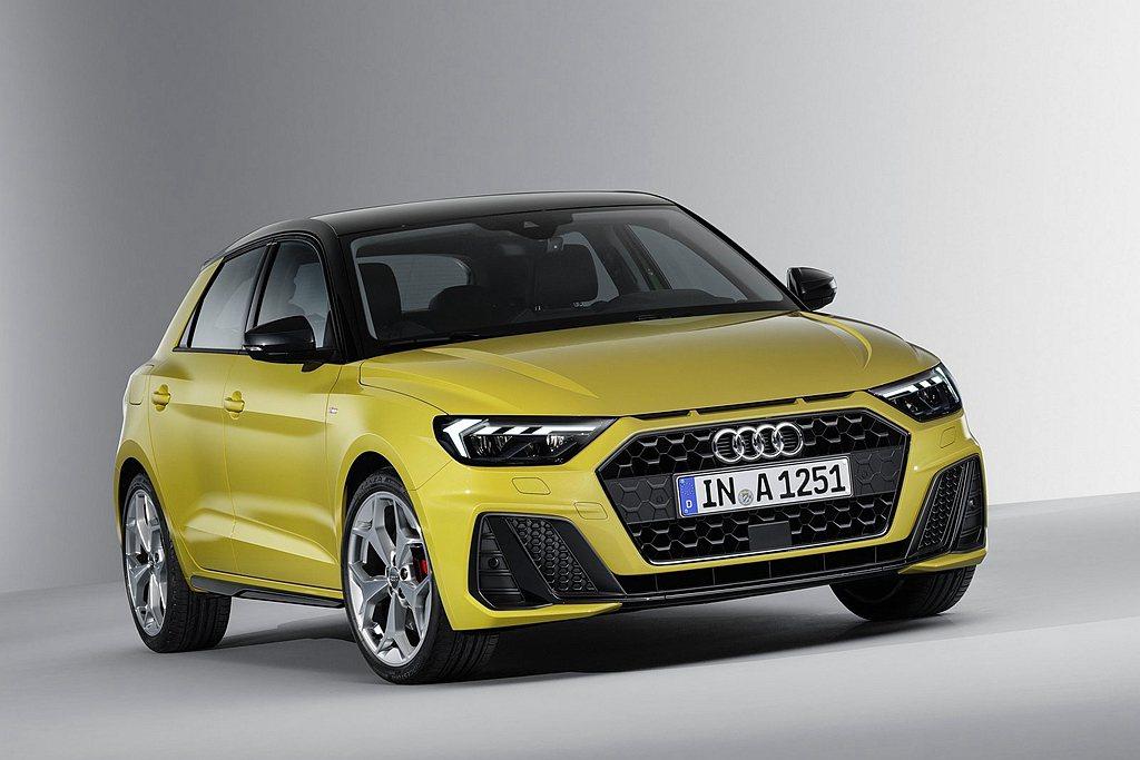 Audi A1 Sportback在台建議預售價125萬元起。 圖/Audi提供