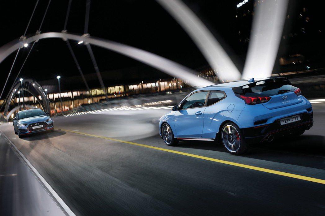 新年式Hyundai Veloster N。 摘自Hyundai