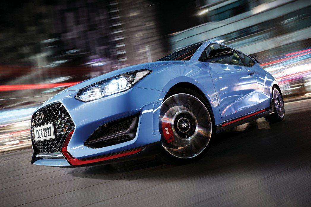 新年式Hyundai Veloster N終於有了DCT雙離合器變速箱! 摘自H...