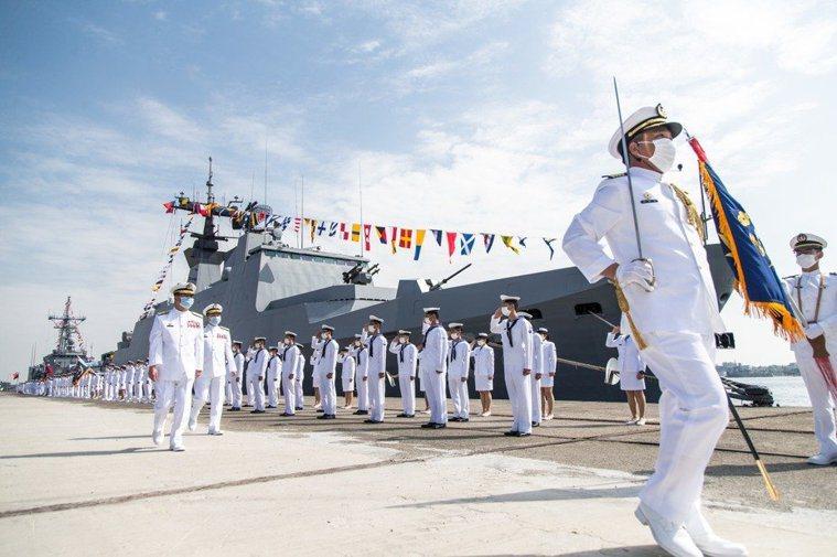 海軍109年敦睦艦隊。圖/軍聞社
