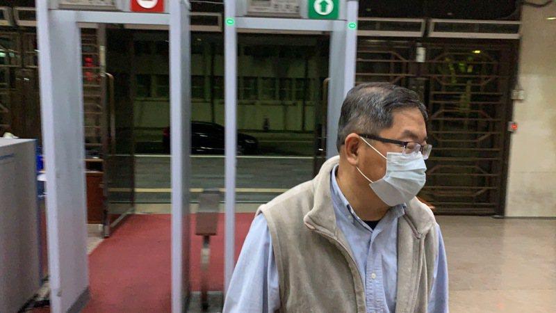 台北市出版商業同業公會理事長盧欽政。記者賴佩璇/攝影。