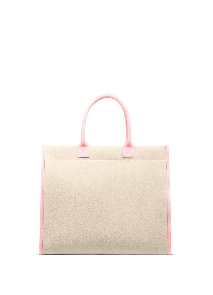 LUNIFORM N°20 米色+粉紅色萬用托特包,30,600元。圖/團團提供