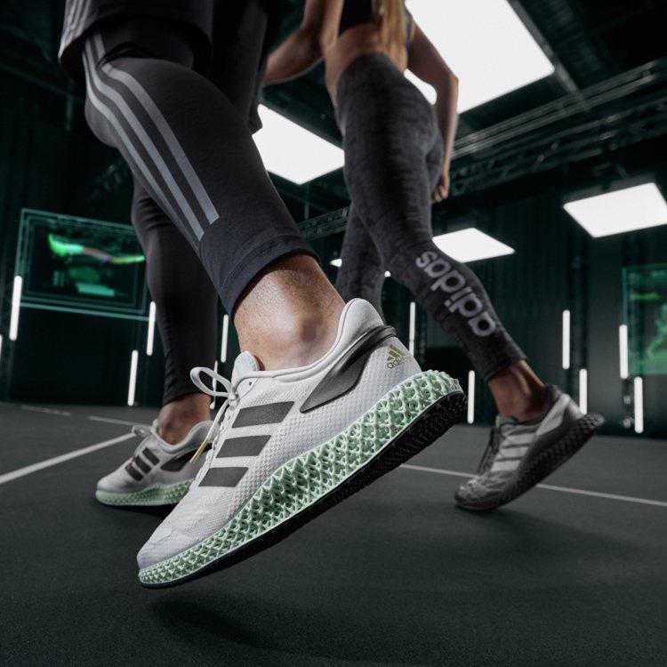 adidas 4D 1.0鞋以Superstar黑白配色綴以標誌性Logo,7,...