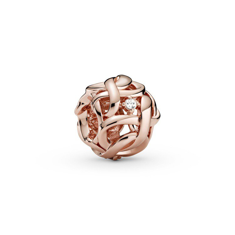 Pandora Rose無限纏繞鋯石串飾/1,880元。圖/Pandora提供