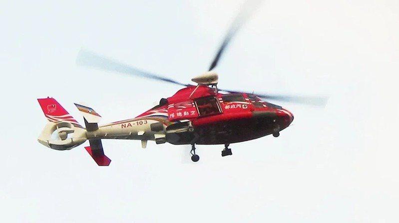 空勤總隊直升機。示意圖/空勤總隊提供