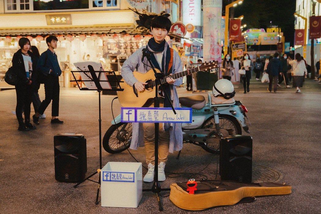 魏嘉瑩推出新專輯「夜空裡的光」。圖/小魏工作室提供