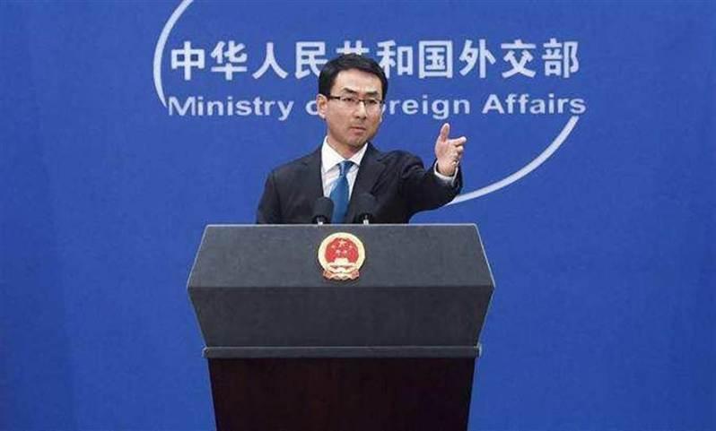 大陸外交部發言人耿爽。新華社資料照片