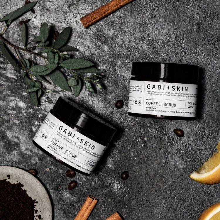 gabi+skin咖啡去角質(甜橙肉桂)150g,780元。圖/好好集提供