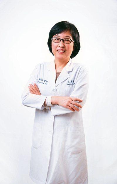 衛生福利部雙和醫院皮膚科主任李婉若。 圖/李婉若提供