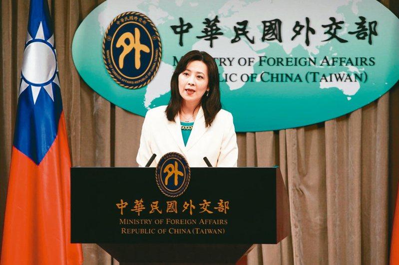 外交部發言人歐江安。 圖/外交部提供