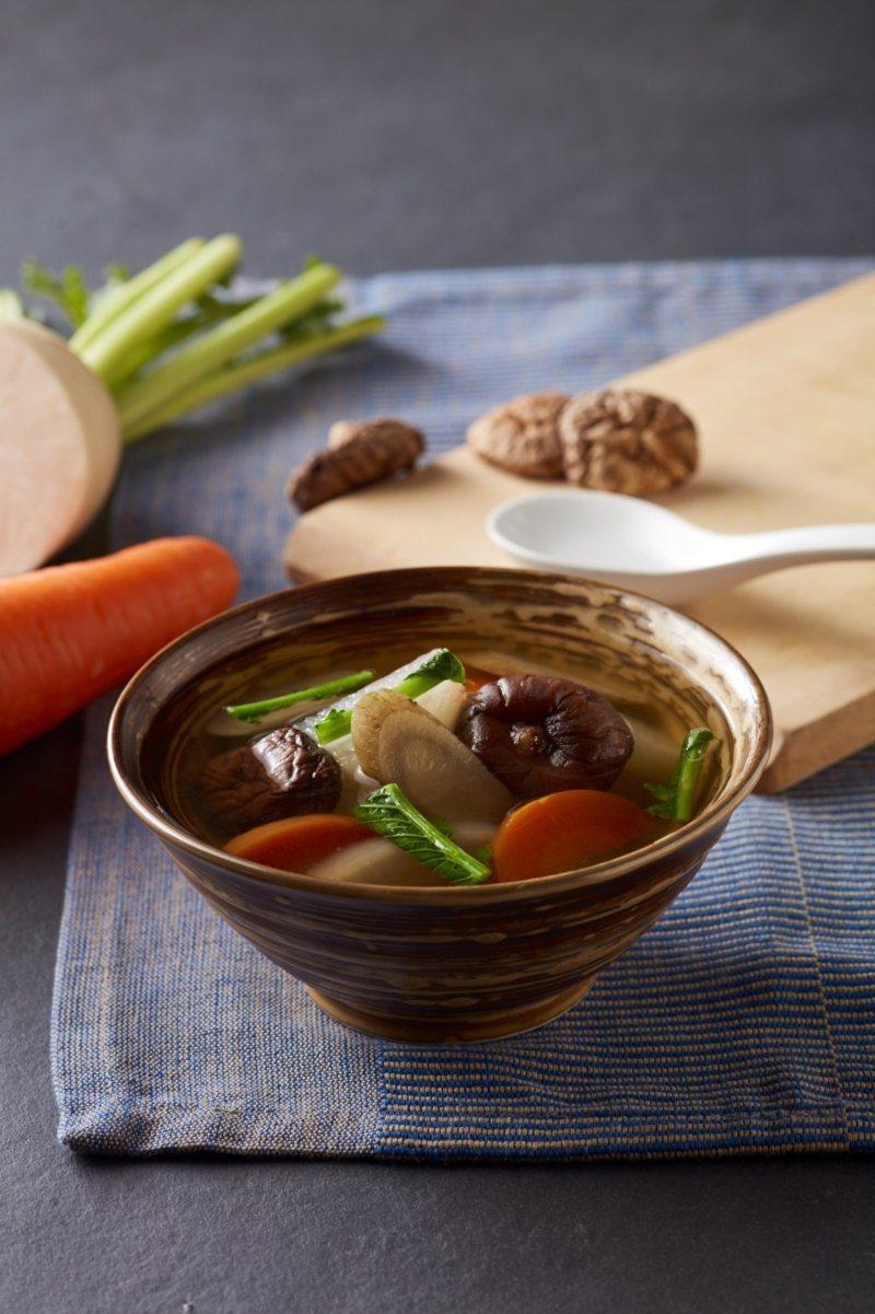五行蔬菜湯。 圖/朱雀文化提供