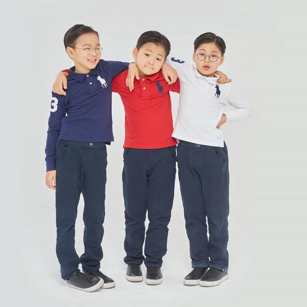 宋一國三胞胎已長大不少。圖/擷自instagram。