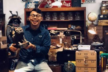 【復古潮流】收藏古物,承租老屋,鳥飛古物店成為台南新風景
