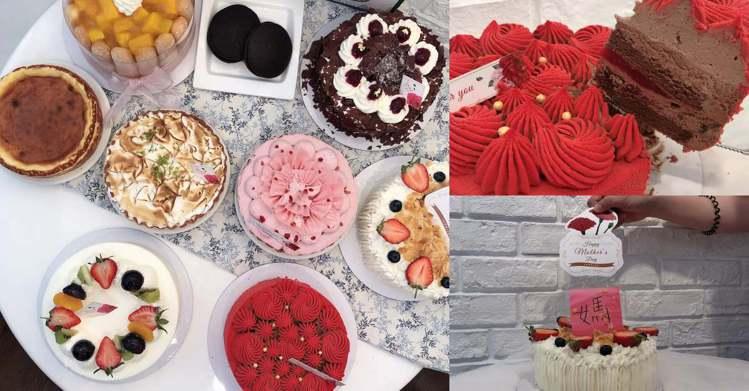 圖/Bella儂儂提供 (右上)緋紅 紅豔濃烈 6吋 (右下)莓好馨意 6吋