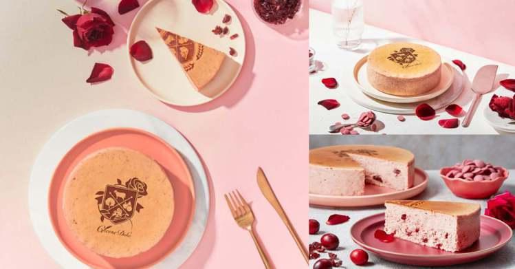 圖/Bella儂儂提供 南國玫瑰女王乳酪蛋糕 6吋