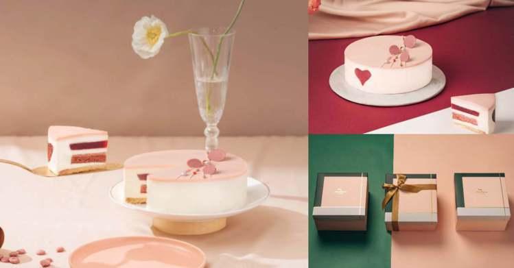 圖/Bella儂儂提供 櫻花覆盆子.紅絲絨蛋糕 6吋