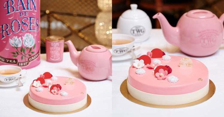 圖/Bella儂儂提供 玫瑰芬香茶慕斯 7吋