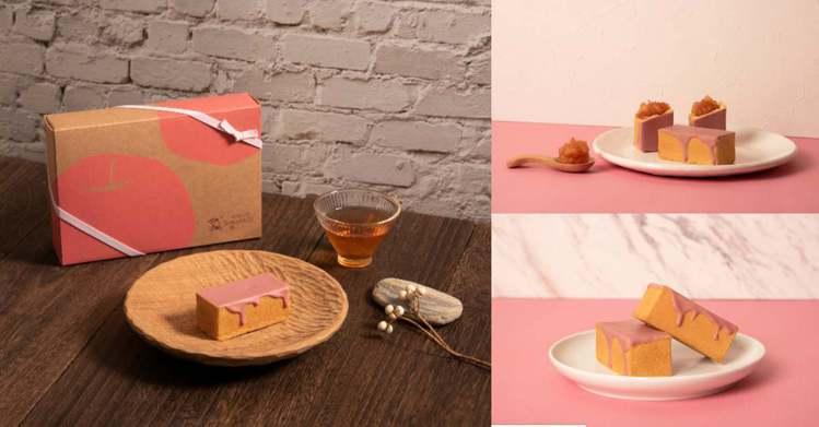 圖/Bella儂儂提供 粉紅蘋果酥 6入