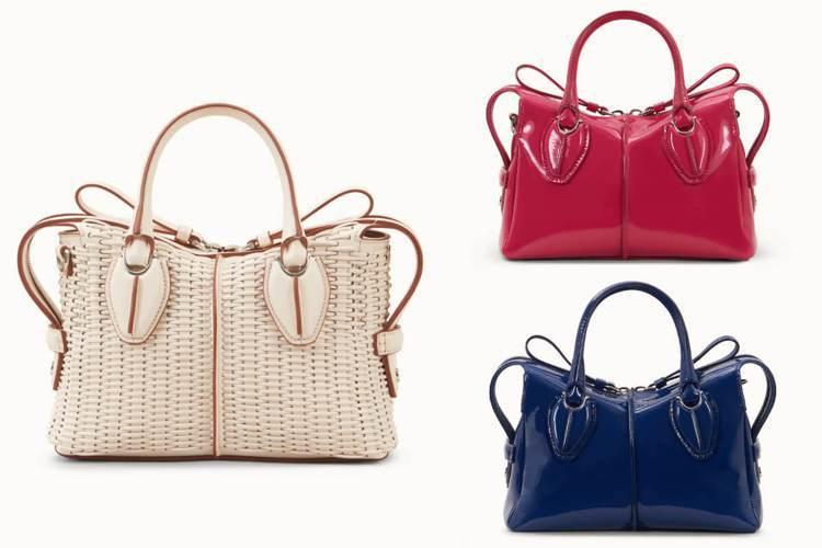 圖/Bella儂儂提供 (左)D-Styling Bag 手工皮革編織手提包 /...