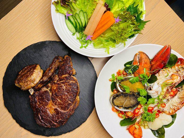 Alley麗餐廳推出母親節套餐,每位1780+10%,四人同行直接送媽媽住一晚逸...