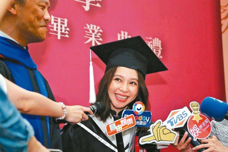 藝人徐若瑄的技術報告論文,引來部分鄉民酸言酸語,也出現對台灣教育體制的反思。圖/聯合報系資料照片