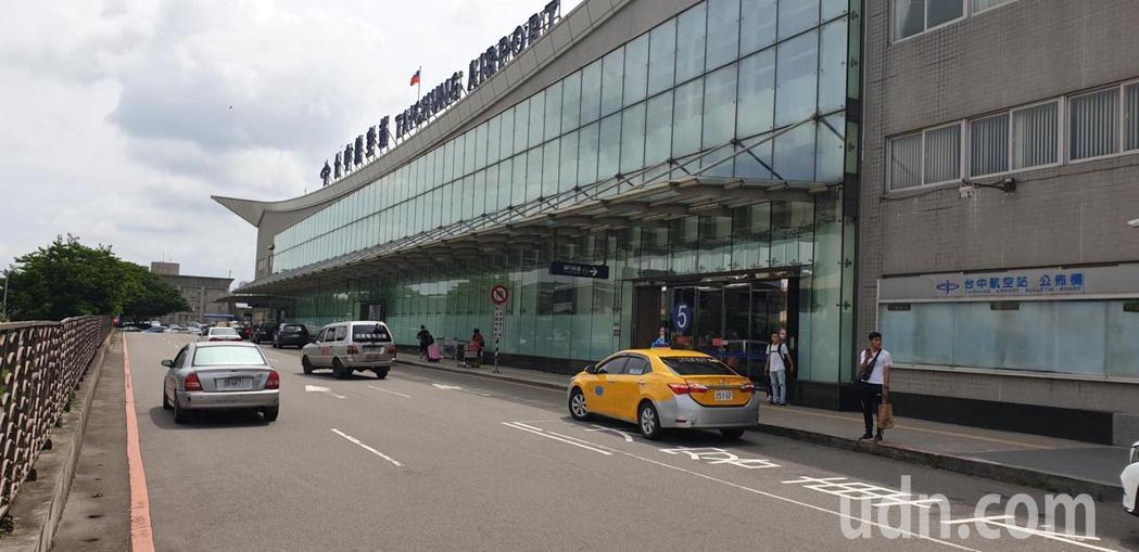 台中機場近一周,已無國際線和中港澳旅客搭機。記者游振昇/攝影