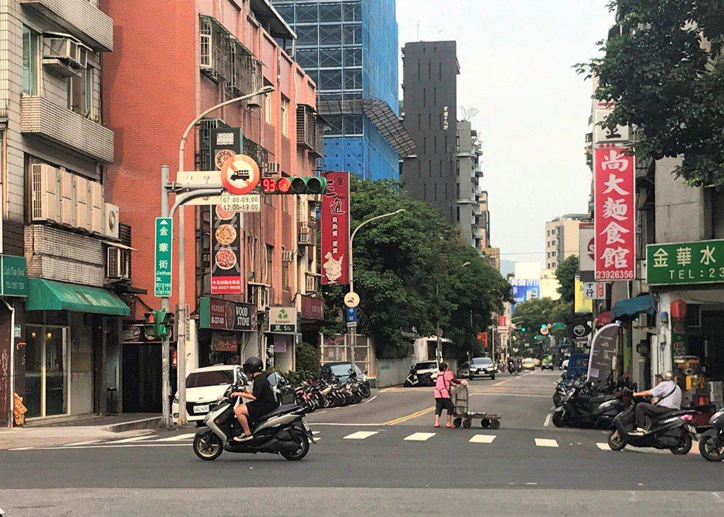 金華街。記者游智文/攝影
