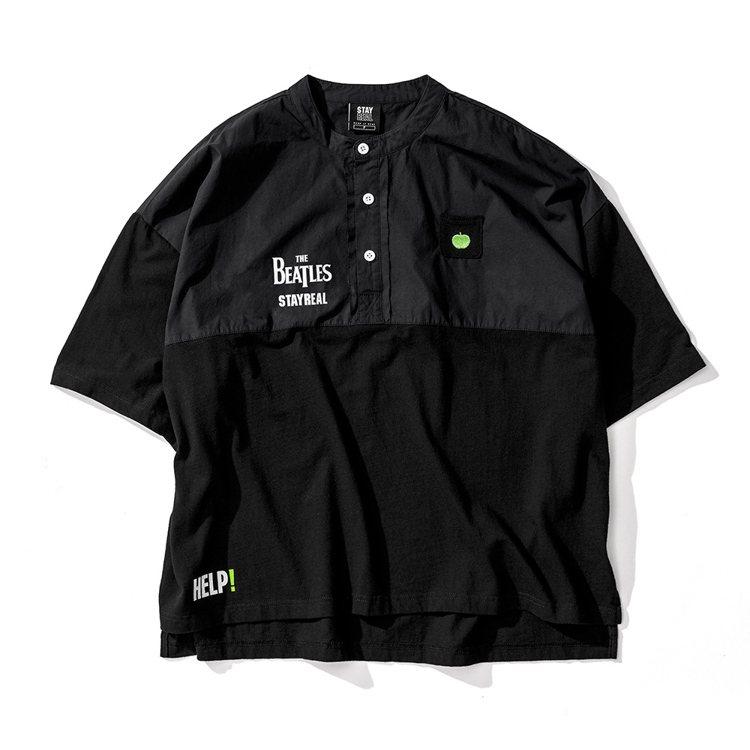 Beatles文青小立領衫1,880元。圖/Stayreal提供
